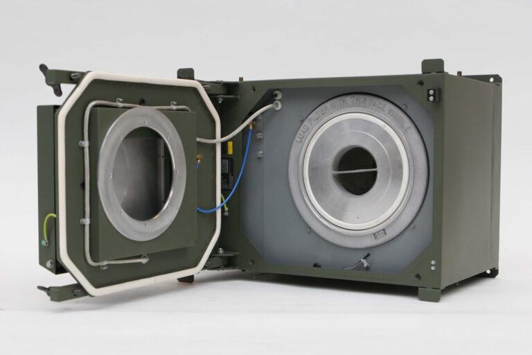 A shelter for a CBRN filtration unit
